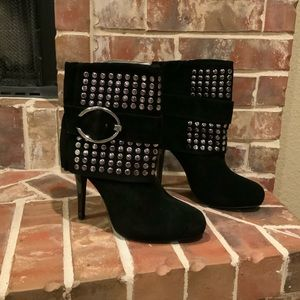 NWT Qupid Studded Booties